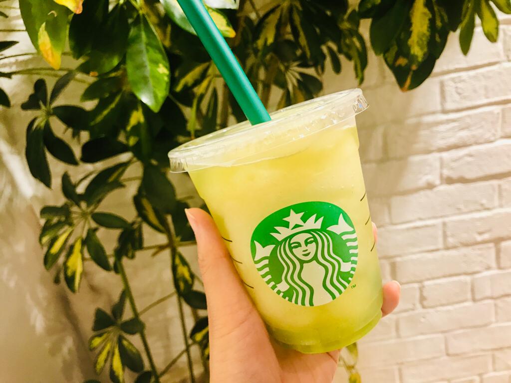 【スタバ新作】待ってた♡夏と言えばフローズンティー!今年は《香る煎茶 × グリーンアップル》❤︎_2
