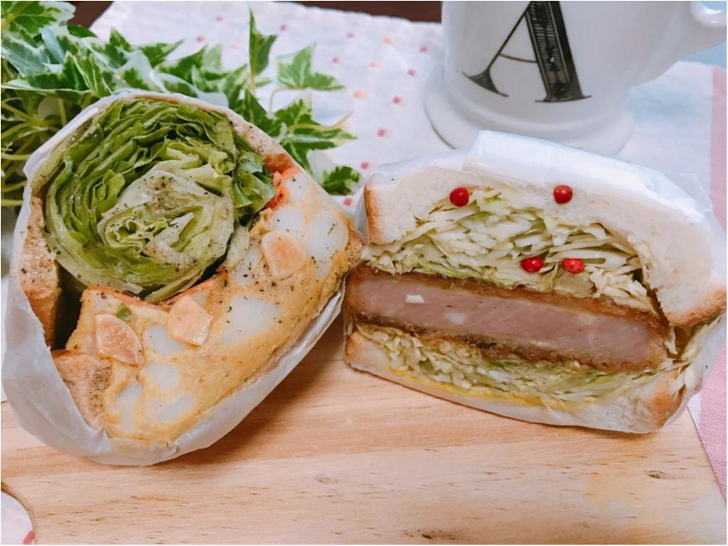 【萌え断サンド】まるで野菜ブーケ!ボリューム満点《POTASTA(ポタスタ)》のサンドイッチが美味しすぎる♡♡_3
