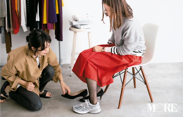 【読者変身】無難、甘すぎ、いつも同じ……きれい色スカートのお悩み、スタイリスト高野さんが解決します☆ 記事Photo Gallery_1_20