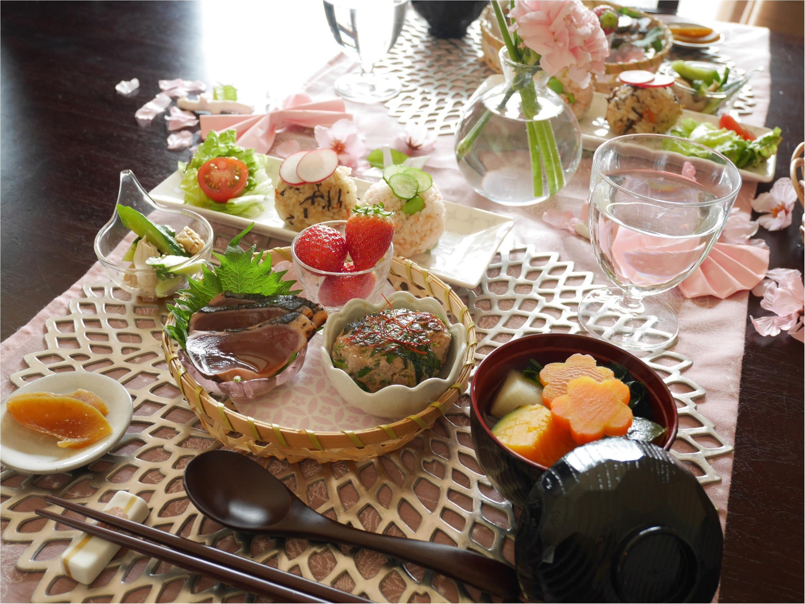 春はスグそこ!「ピンクで華やかにテーブルコーディネートして、手づくりご飯をお家で・・」_3
