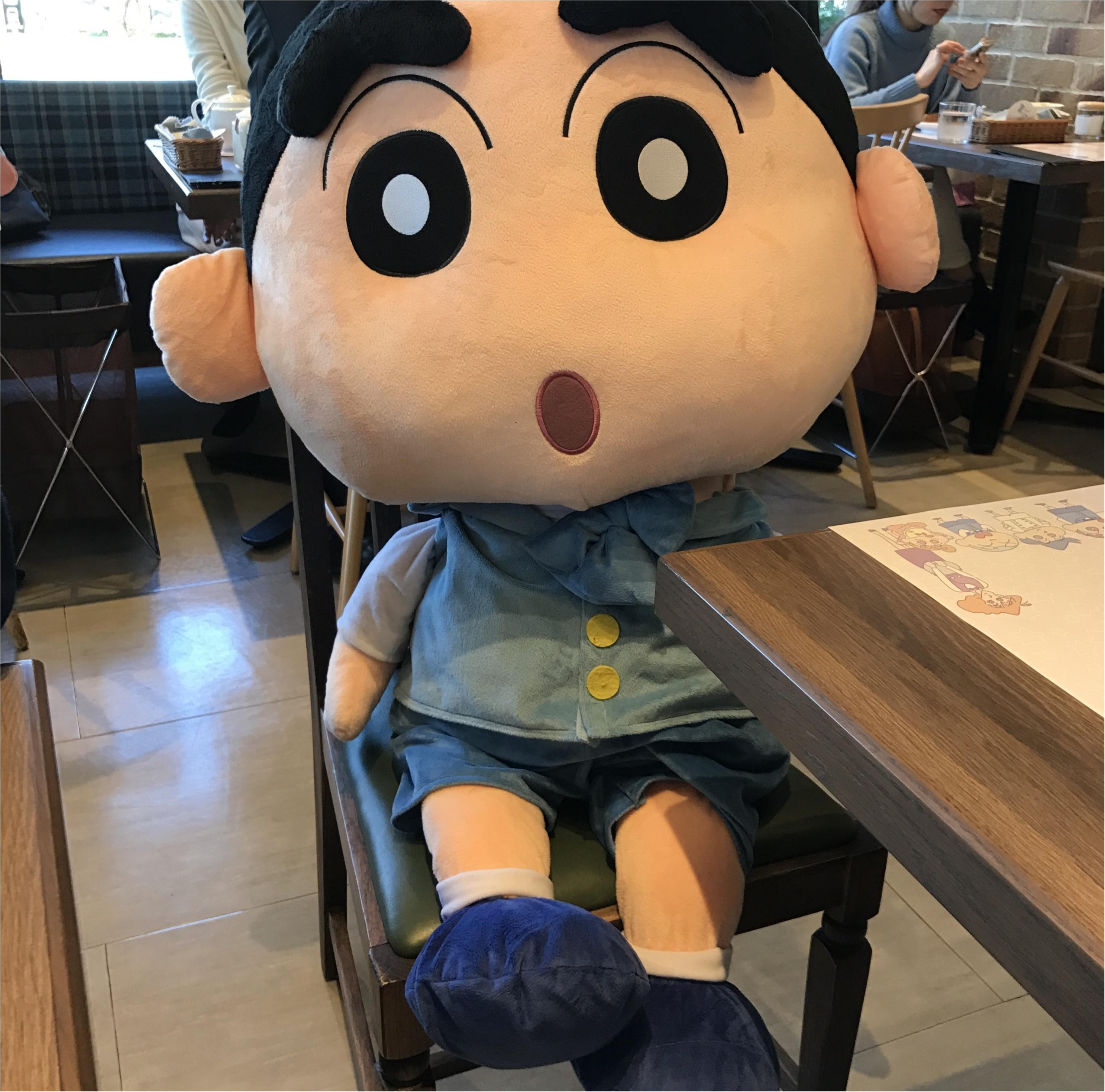 クレヨンしんちゃんコラボカフェ【ビストロオラマチ】に行ってきました♡_2