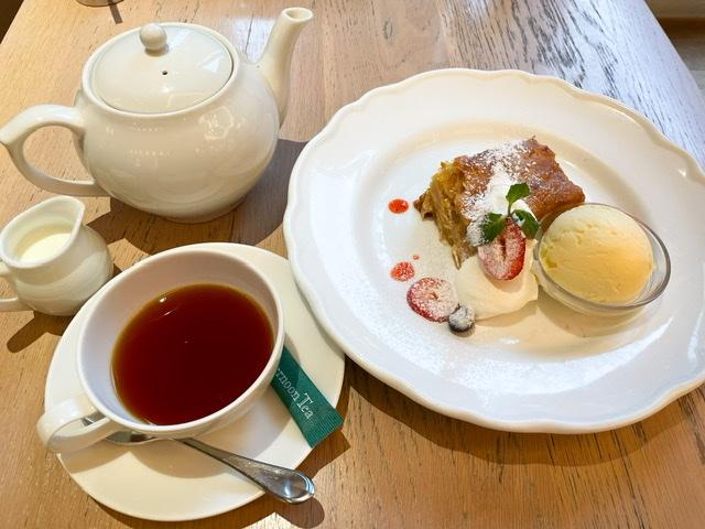 【Afternoon Tea TEAROOM】No.1スイーツ 《アップルパイ》と《紅茶》で優雅な休日♡_3