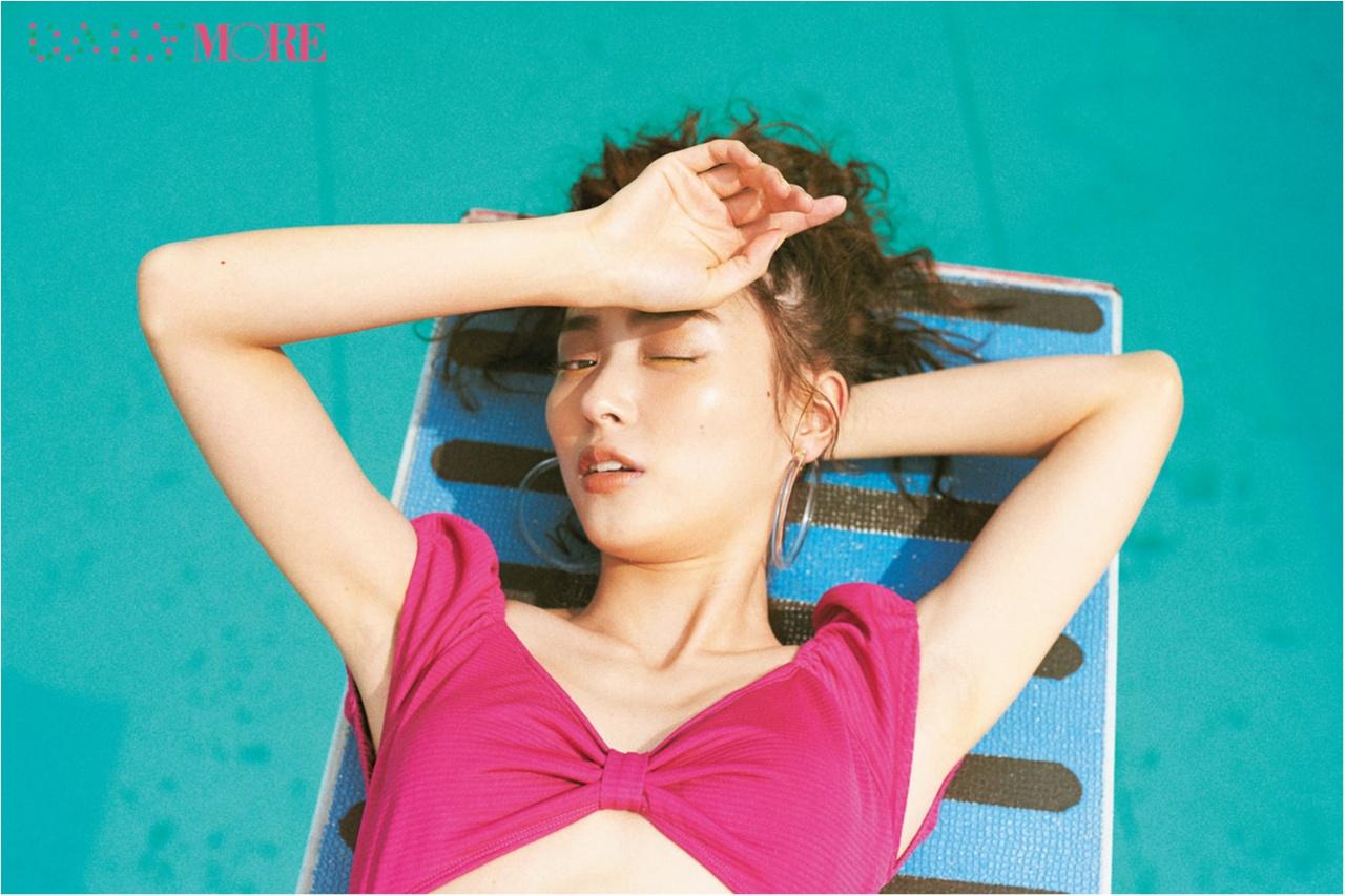 内田理央&イガリシノブさんが提案!「プールの日」は「サマーイエロー☆メイク」が断然可愛い♪_1