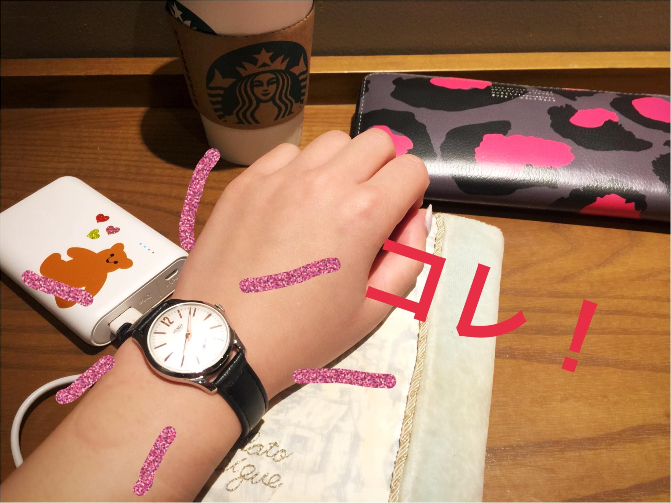 みんなと同じ腕時計は…という方はコレ!♡_2