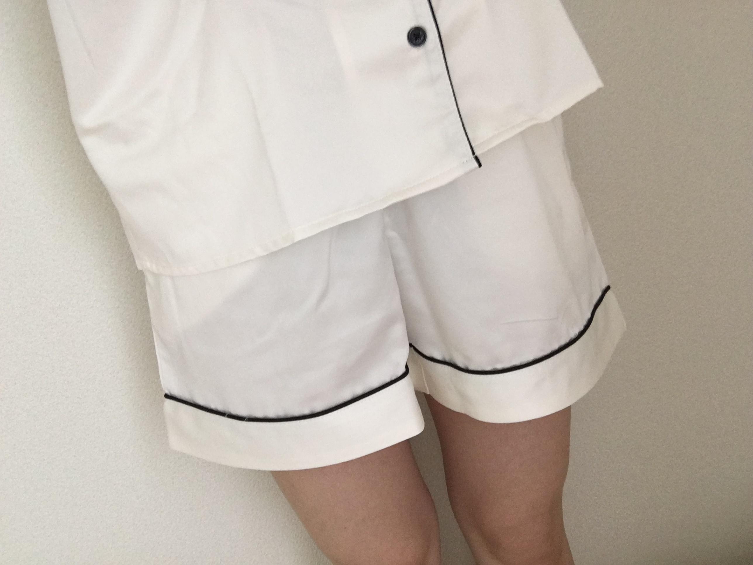 ★やっぱりパジャマは【GU】で!2490円でサテンの高見えパジャマはいかがですか??_3
