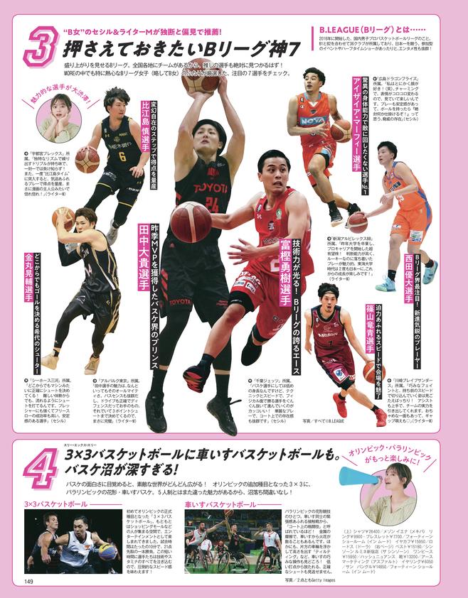 岸本セシルもハマり中♡ 今、「バスケットボール」が熱い4つの理由(2)