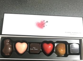 バレンタイン前日!myチョコ用に可愛いハートのパッケージでテンションも上がる♡