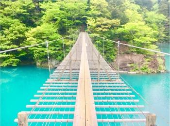 【静岡】涼しさを感じに《夢の吊り橋》へGooooo!