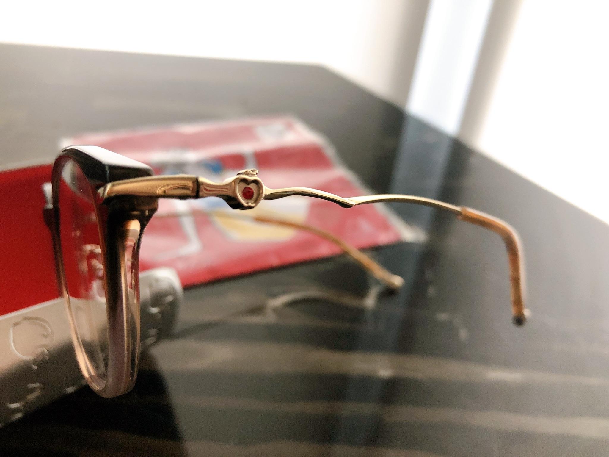 【Zoff】アクセサリーみたいな可愛さ♡ディズニープリンセスのメガネに一目惚れ(๑>◡<๑)! ブルーライトカット仕様は追加料金0円!_3