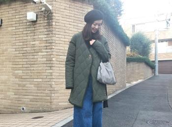 《アヤサンポ》Uniqlo Uの神デニムや、H&Mの暖かニットまで!スカーフアレンジやヘアアレンジも♡