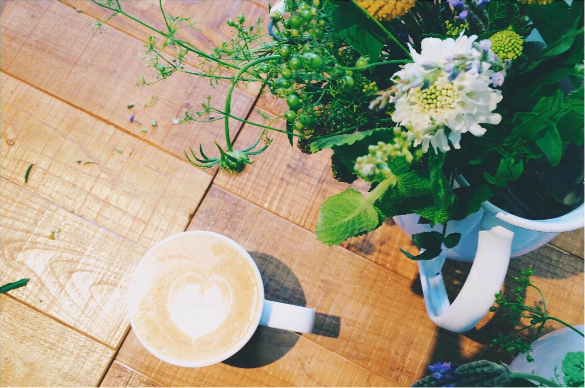 【*お花と珈琲時間な休日*】~食卓花のワークショップ~_1