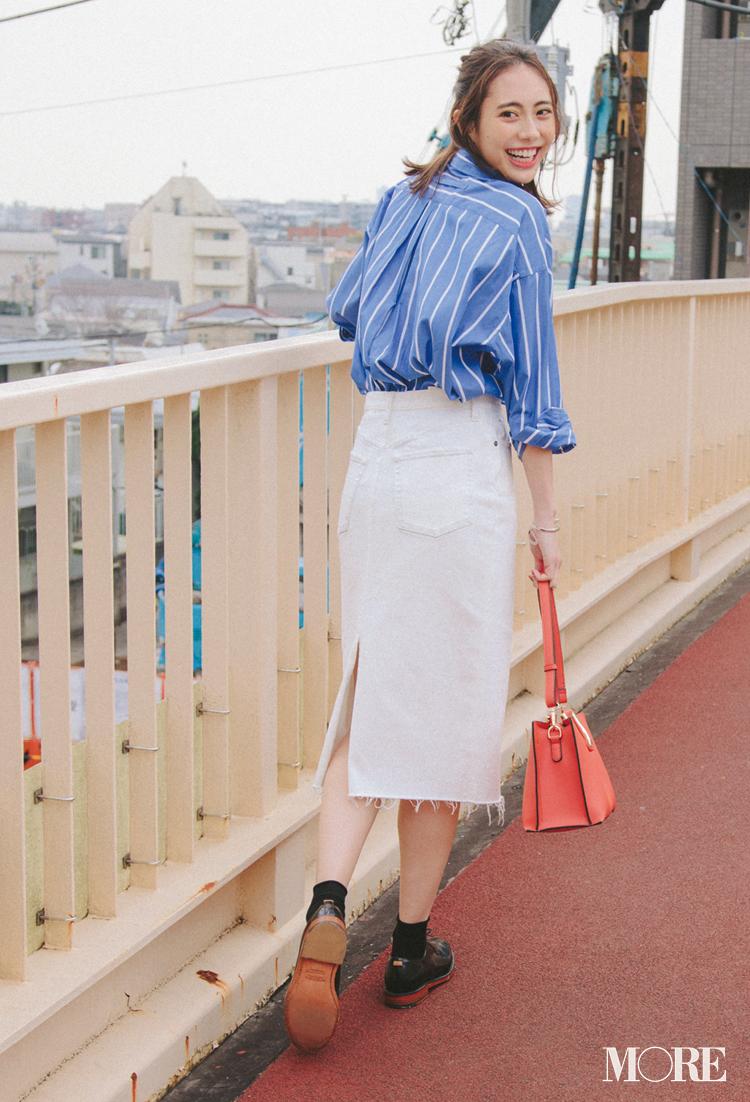 フレアやプリーツも!? 「白いデニムスカート」がものすごい進化を遂げている!_4
