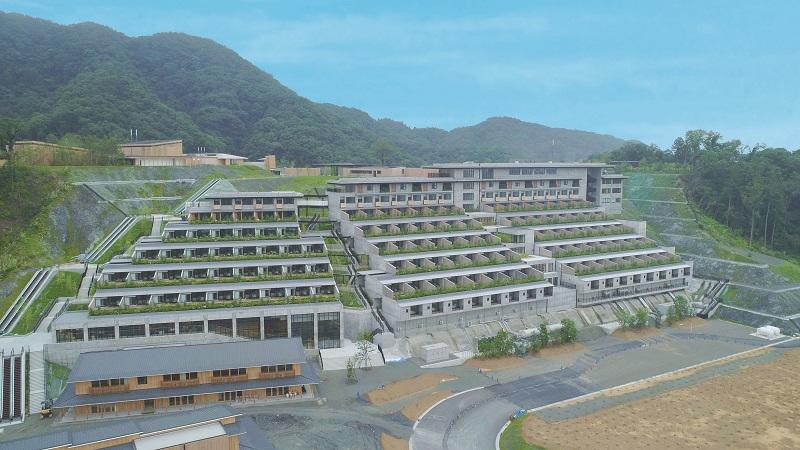 【三重県・伊勢志摩のおしゃれホテル】『ホテルヴィソン』の外観
