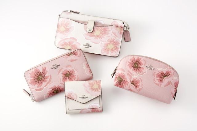 """バッグに春来たる♡『コーチ』の""""Sakura""""コレクションが日本限定で発売中!_3"""