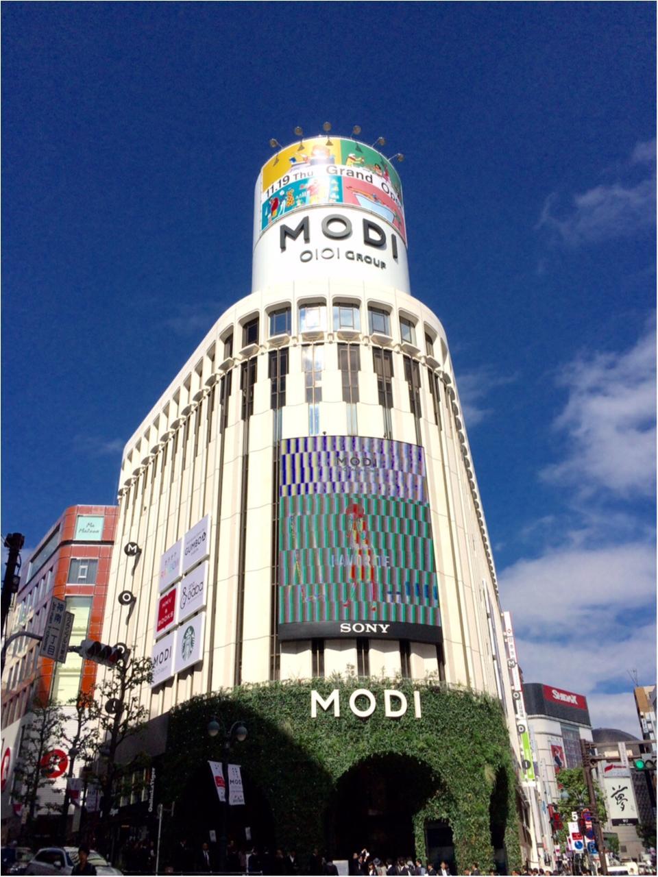 【渋谷モディに行ってみた①】おしゃれショップにカラオケも!?_1