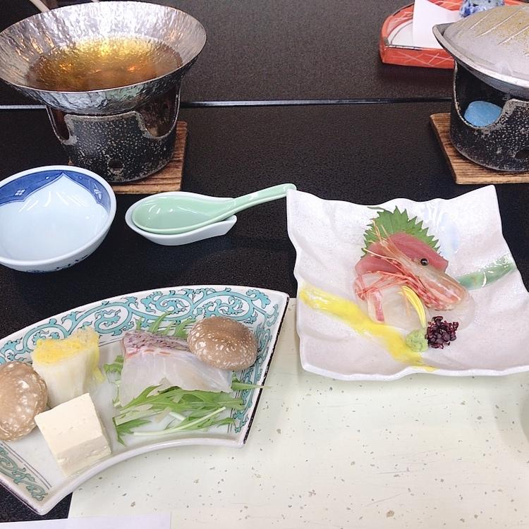 下呂温泉旅館の小川屋の夜ご飯