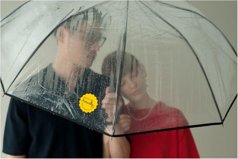 """""""あえて""""のビニール傘がイマドキ! 折りたたみできてもっと便利になった♬_2"""