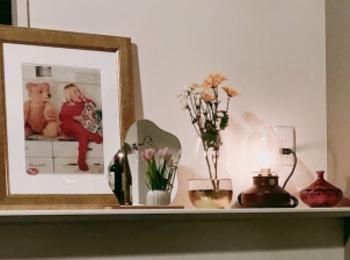 1LDKで2人暮らし。カフェのようなゆったりインテリア。夫婦で在宅勤務を乗りきる!