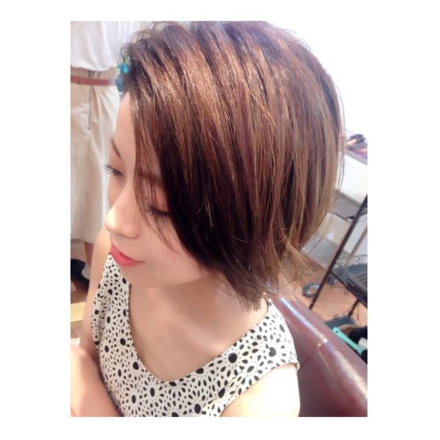 new hair ▶︎▷▶︎ ショートボブ_2