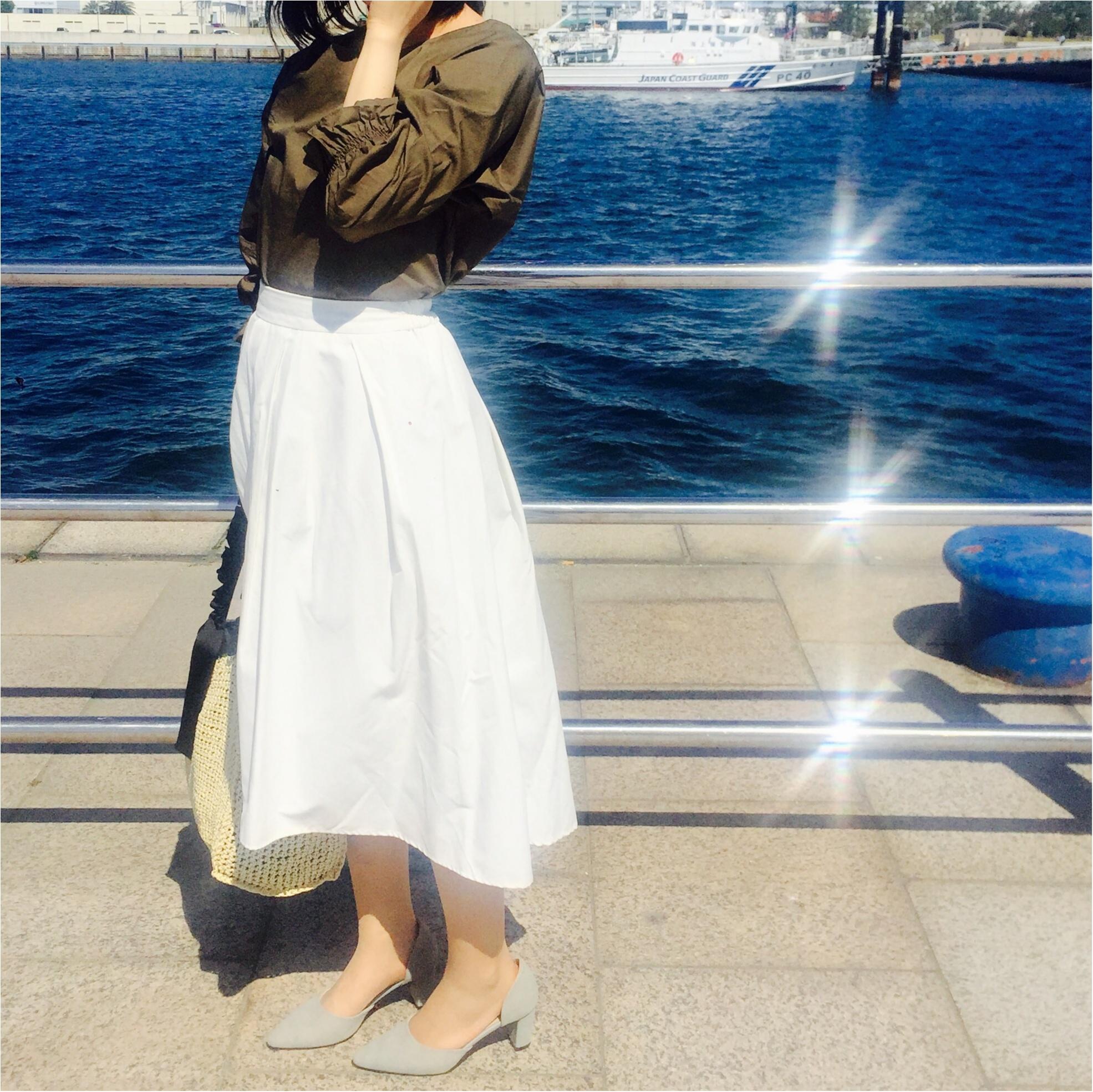 気温*25度!【GU×Te chichi】初夏を感じる日の快適コーデ!_2