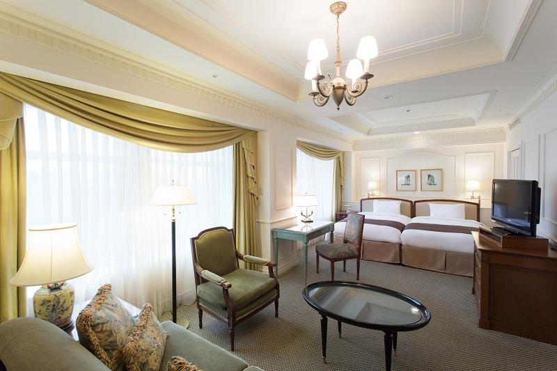 【千葉県のおしゃれなホテル】『ホテル ザ・マンハッタン』の部屋「ラグジュアリーハリウッドツイン」