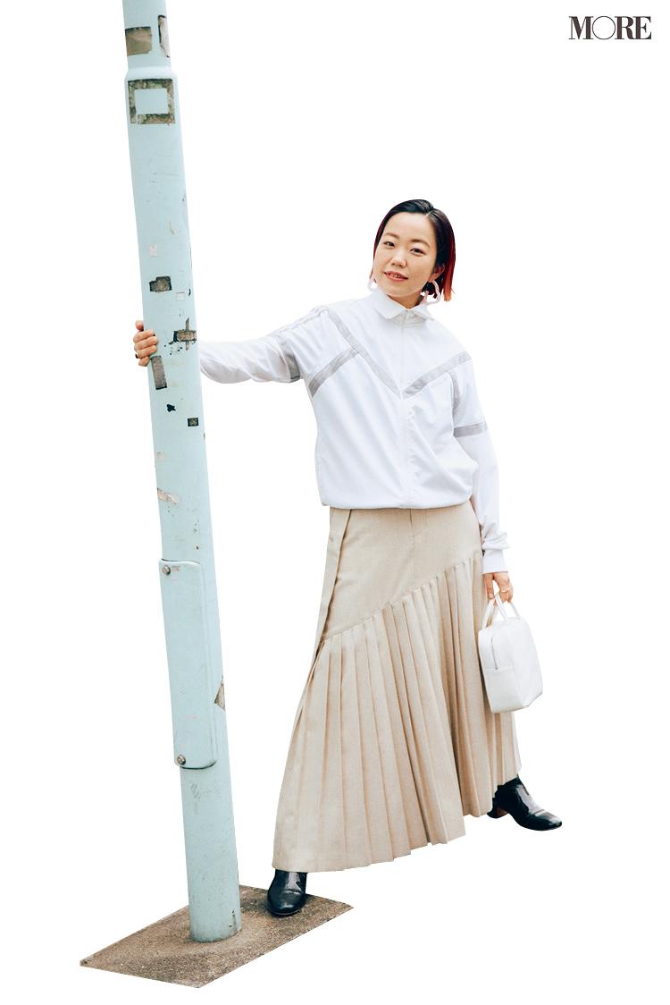 スタイリスト高野麻子さんの私服コーデ