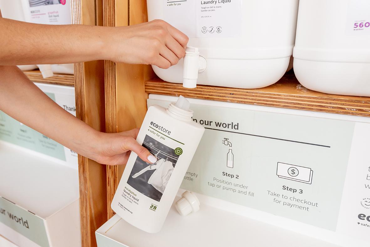 『ナチュラルローソン』で、『ecostore』洗剤の量り売りがスタート! 使い捨てプラスチックの削減に協力しよう_2
