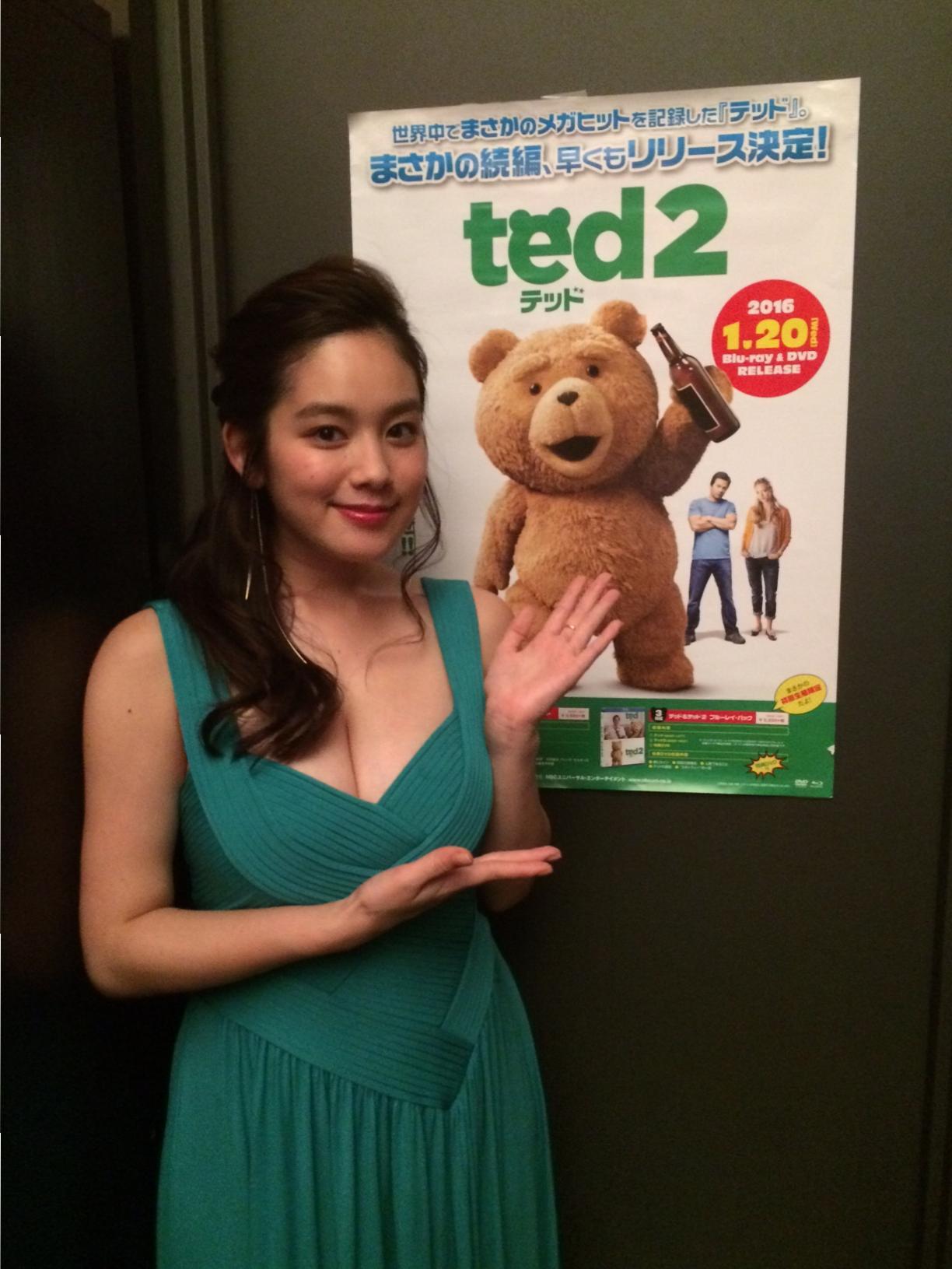 筧美和子さんも登場!「ted2」リリースパーティに潜入! _3