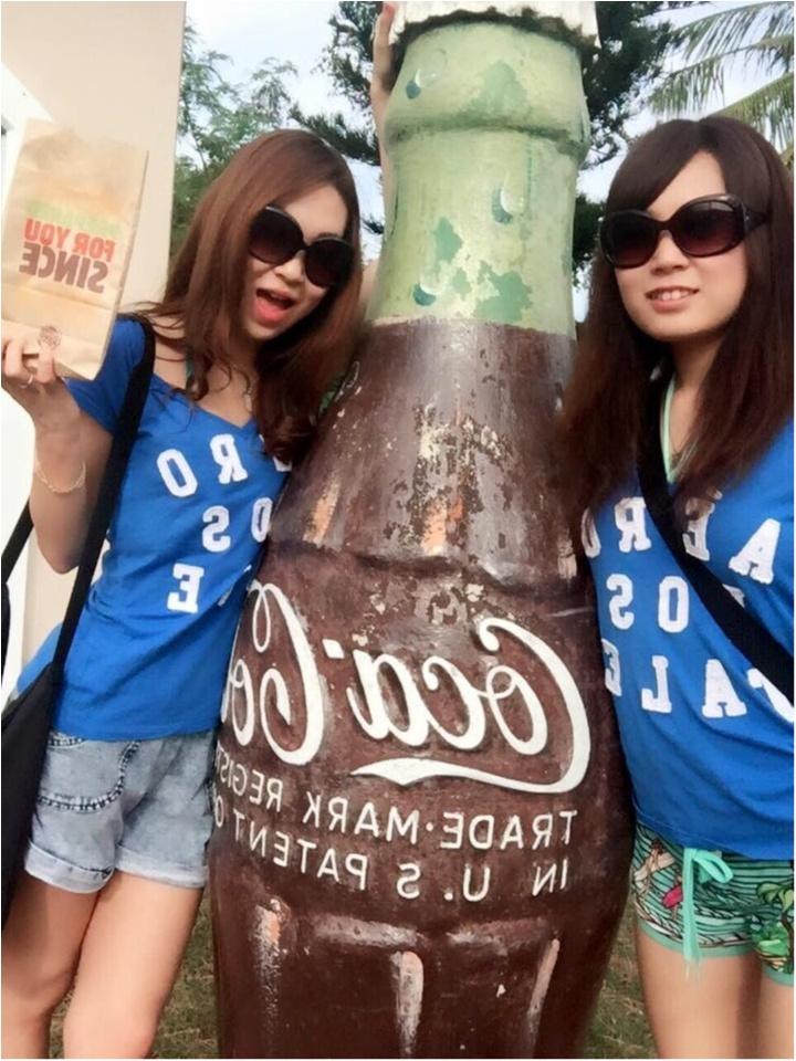 【TRIP】楽しさ2倍♥︎おそろコーデ in GUAM♡&ショッピングにはきれいめタイトワンピースを♡_2