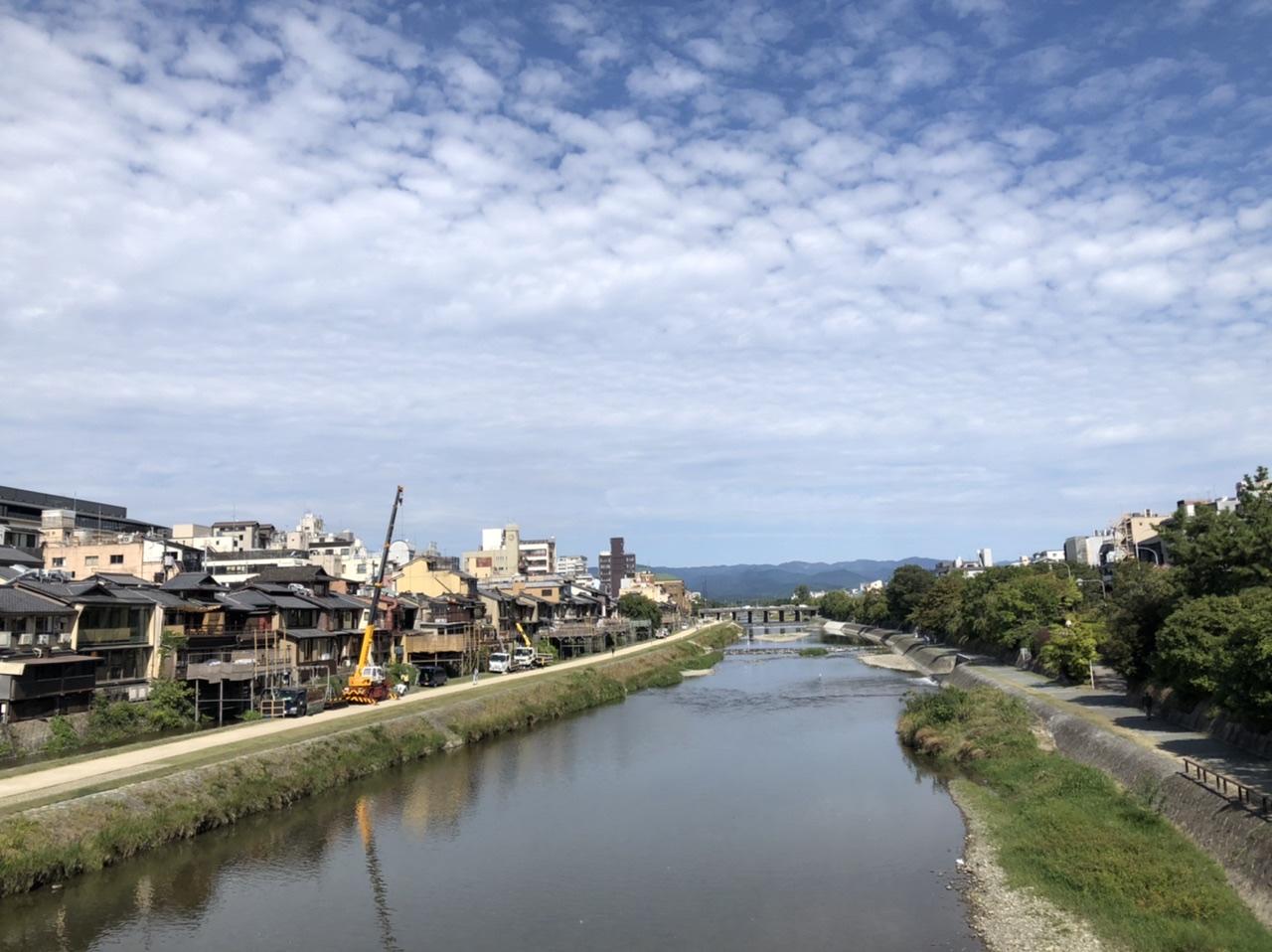 京都鴨川の写真