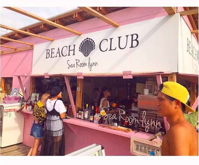 かわいい!可愛すぎる海の家♡⚓︎Sea Room lynn Beach Club × Namiaru?(シールームリン)in逗子海岸!_2