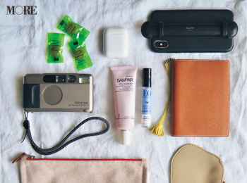 モアモデルのバッグ&バッグの中身を大公開‼︎ photoGallery