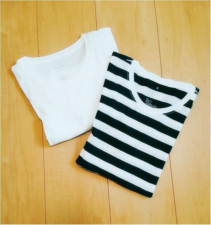 着回し力抜群!無印良品の【クルーネックTシャツ】でシンプルカジュアルな6days♪(443 まゆ_1