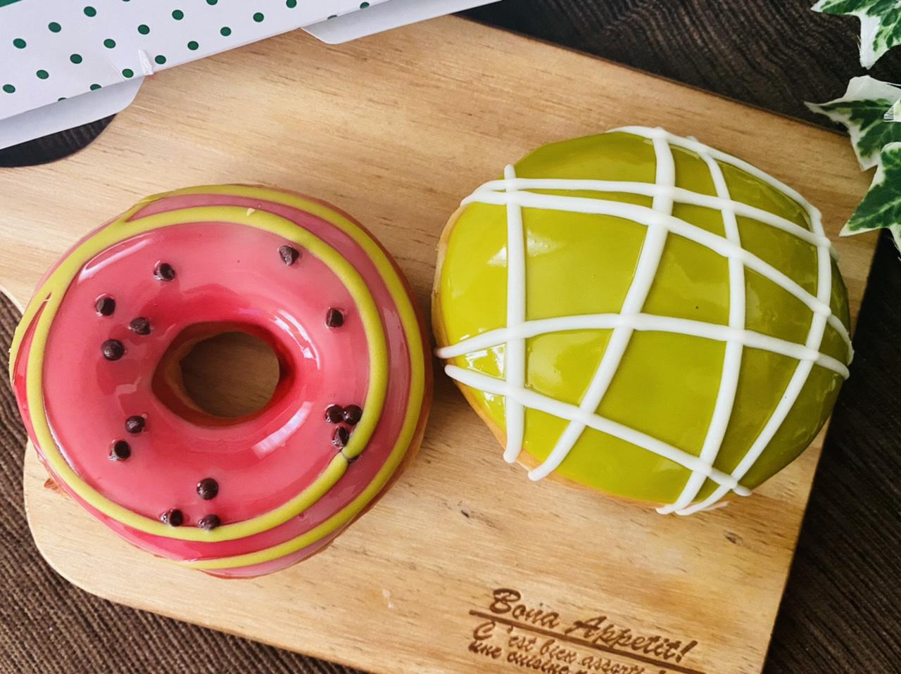 【クリスピー・クリーム・ドーナツ】まるでスイカとメロン♡初夏限定ドーナツが可愛すぎる!_6
