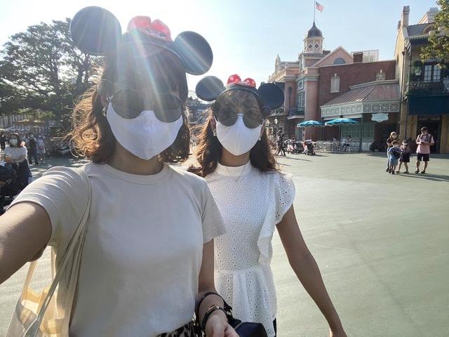 夢の国。「ディズニーランド」へ行って参りました。Disneyコーデ。今の混雑状況は?感染対策は?_1