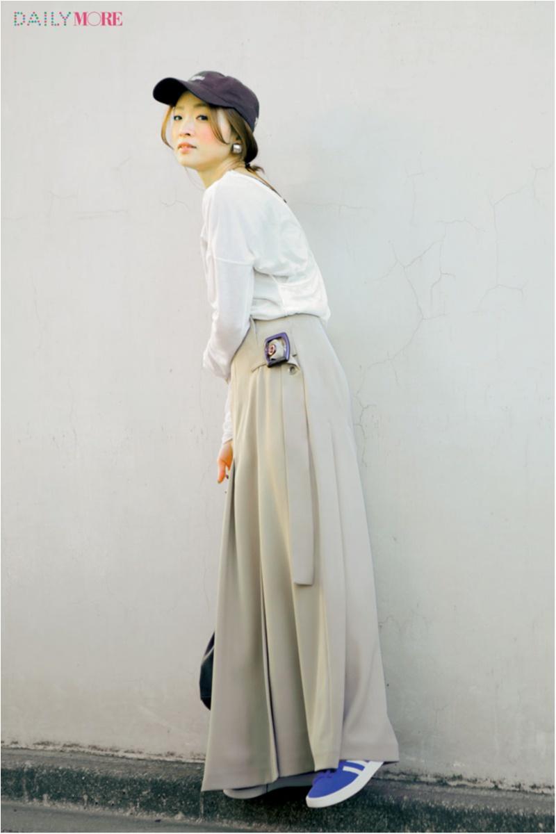 """お洒落な人も""""女っぽい""""が気分♪ ファッションディレクター野尻美穂さんの春私服は、「カジュアル派だからこそ女性らしさを足します」_1_2"""
