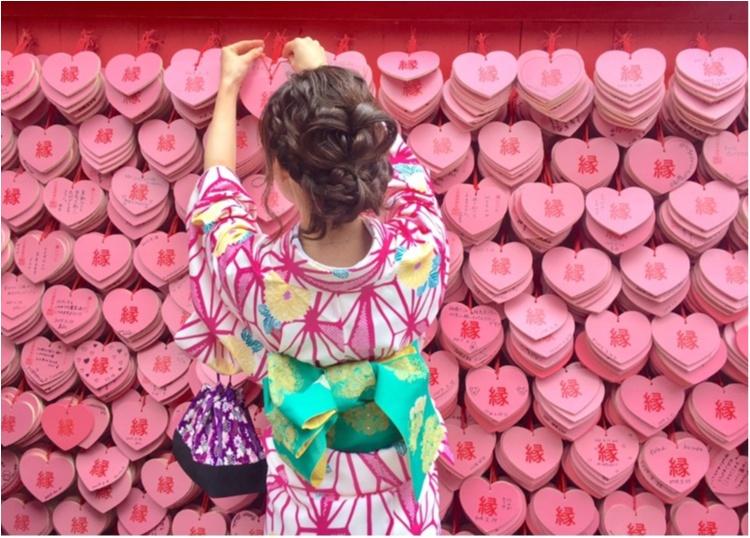 【TRIP】愛知県犬山市♡! #ハートの絵馬 が可愛いすぎ♡縁結び、恋愛成就の三光稲荷神社⋈_5