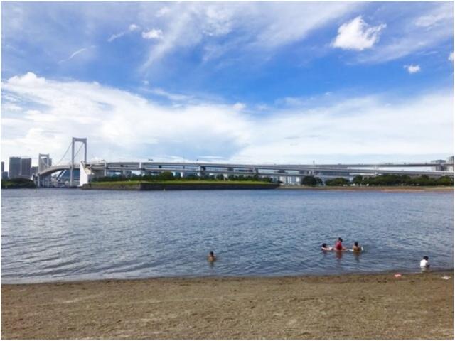 都内で気軽に海が楽しめる!?夏休みは【#おだいばビーチ】へレッツゴー♪_3