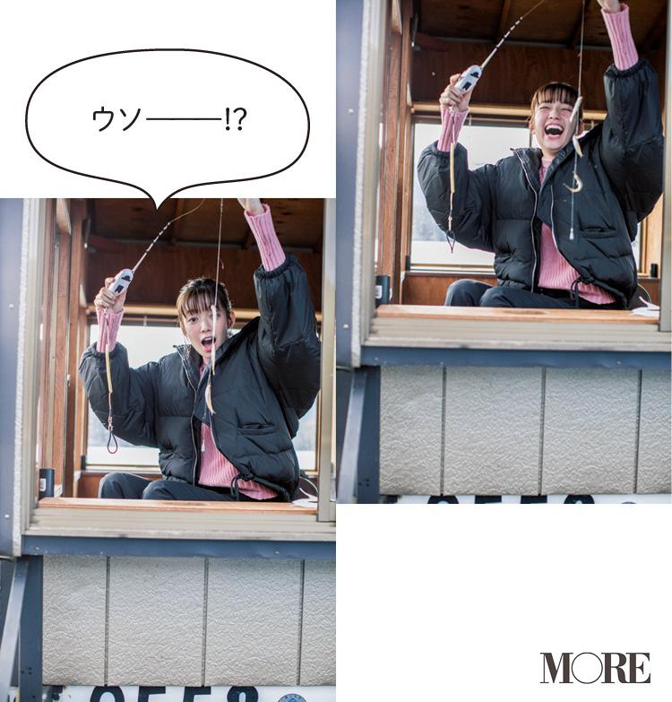 富士山のふもと! 山中湖『ガクロクマリン』でワカサギ釣り!【佐藤栞里のちょっと行ってみ!?】_5