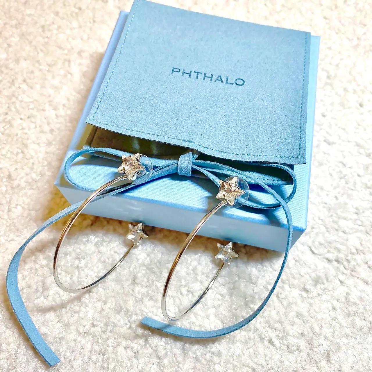 『PHTHALO(フタロ)』のピアス