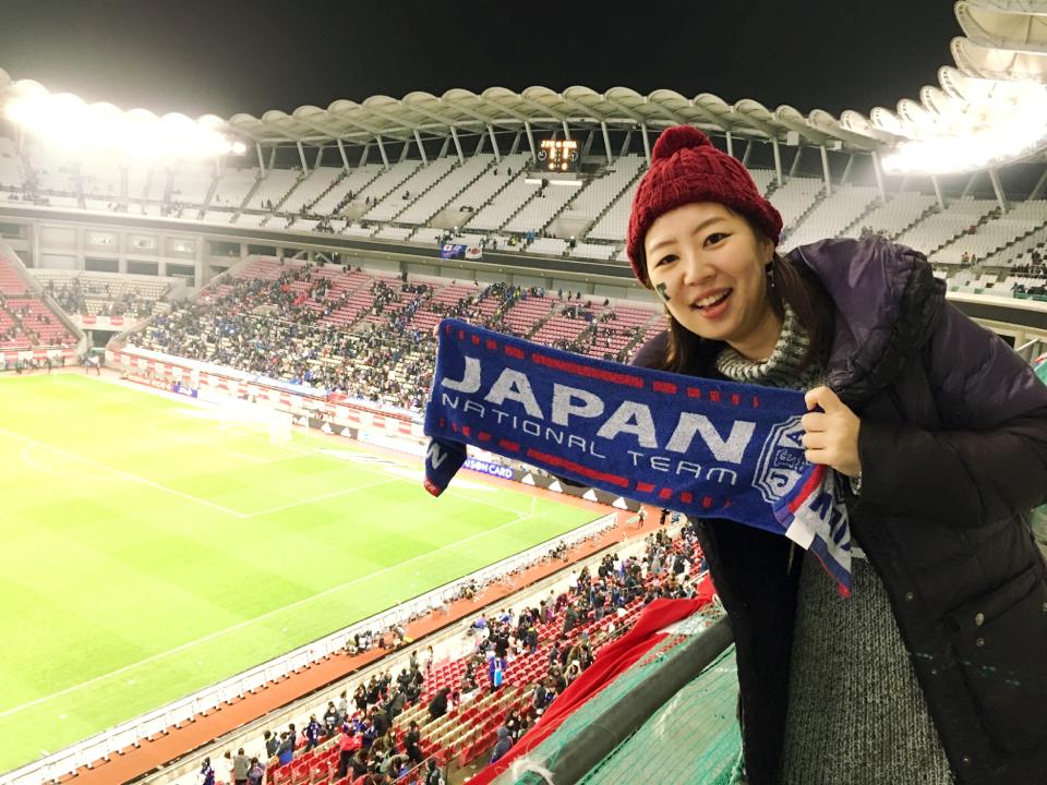 激アツ。サッカー日本代表の全力応援体験ツアーに参加してきました♡_10