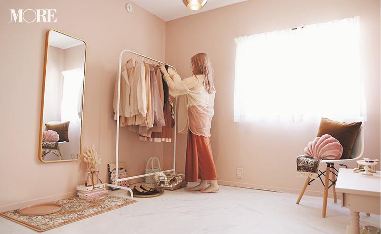 壁や床をDIY♡ 『楽天ROOM』『Francfranc』『イケア』などでインテリアや雑貨も厳選した、おしゃれなピンクの部屋作りに注目_2