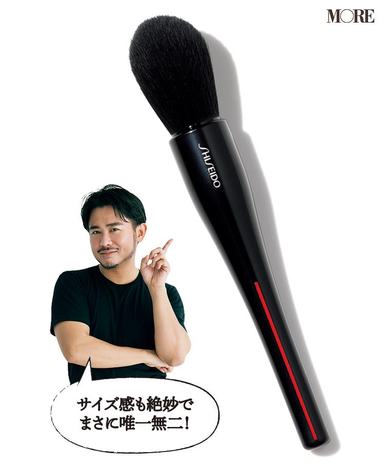 『SHISEIDO』のフェイスブラシ