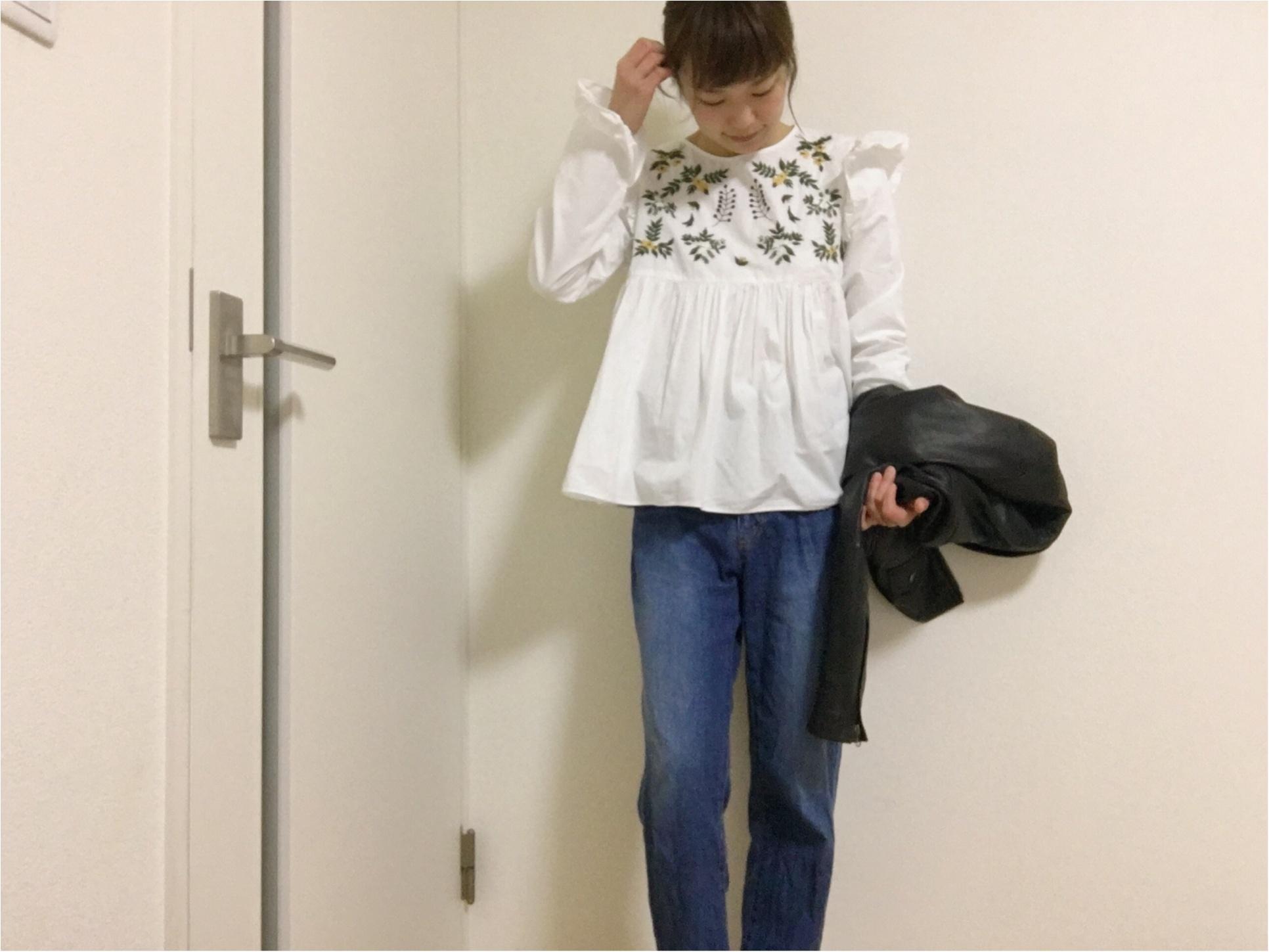 早めの春服は〈プチプラ〉で!H&Mはトップスもデニムも可愛いので、早めにGETしておきましょう!そして、この時期要チェックなおすすめショップも合わせてご紹介!_4
