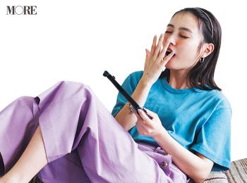 ゲーム実況にトライしたものの……内田理央主演『安くて洗えて可愛い夏コーデ着回し』27日目