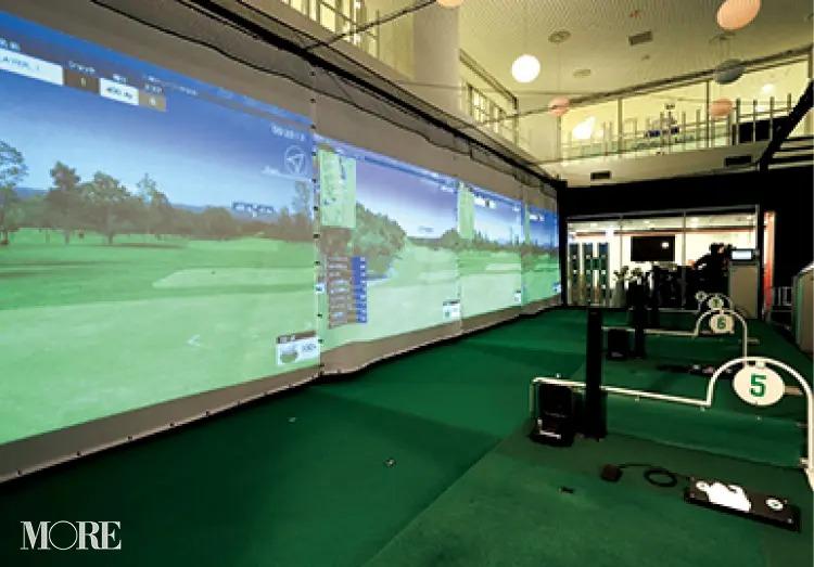 ゴルフを始めるときにおすすめのゴルフスクール「ビームス&ウィンズ ステーション」の内観