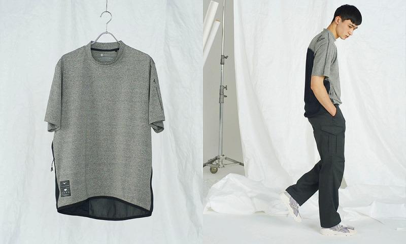 『ミズノ』Triporous FIBER: Multi Purpose T-Shirtの画像