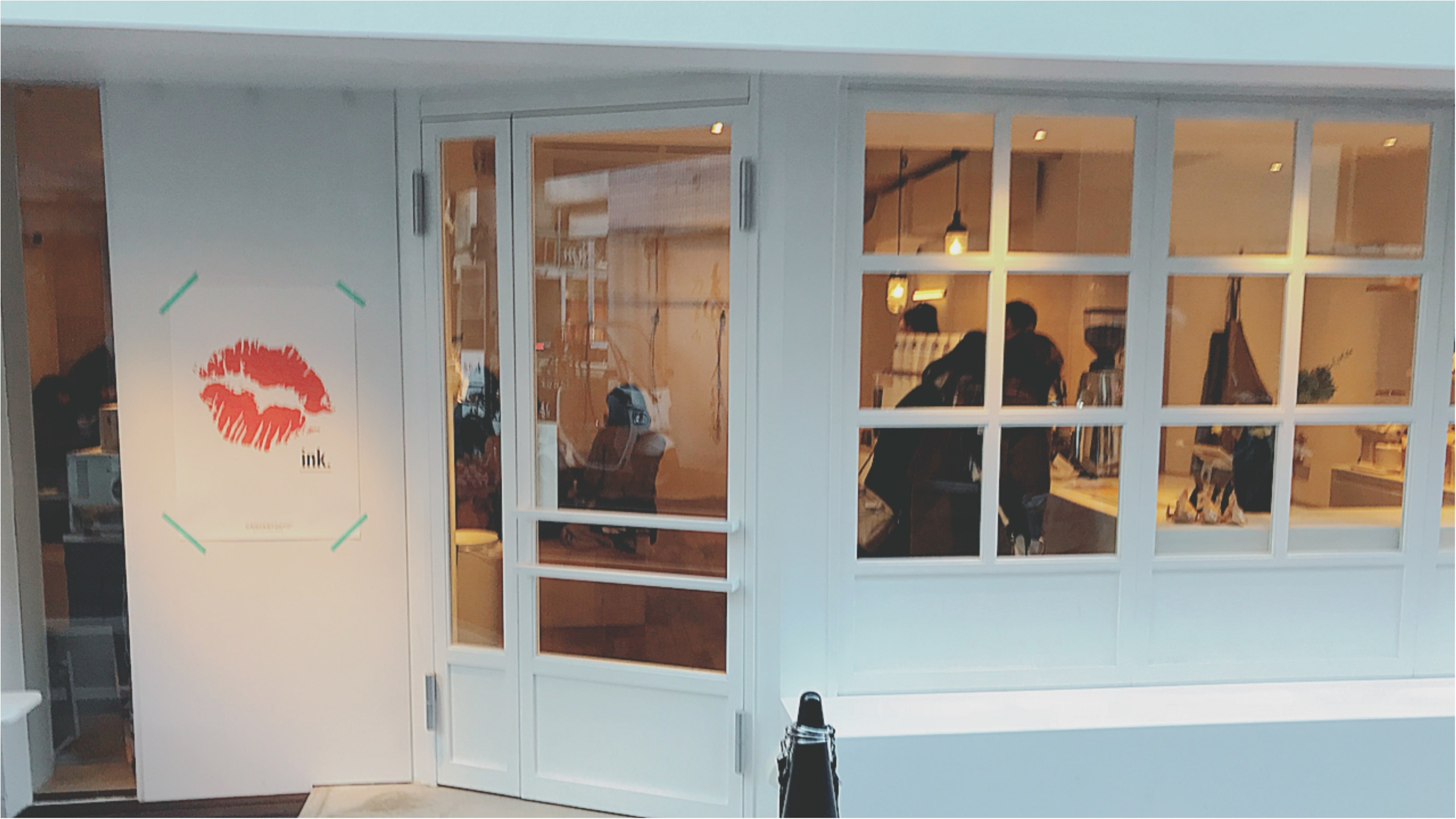 ★お洒落なリップが目印!代官山の『ink. by CANVAS TOKYO』のカラフルラテに一目惚れ★_1