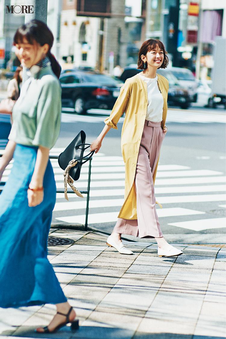 最終回! 顔も知らないあの子、ありがとう。佐藤栞里&逢沢りな着回し連載『毎日きれい色』30日目_2