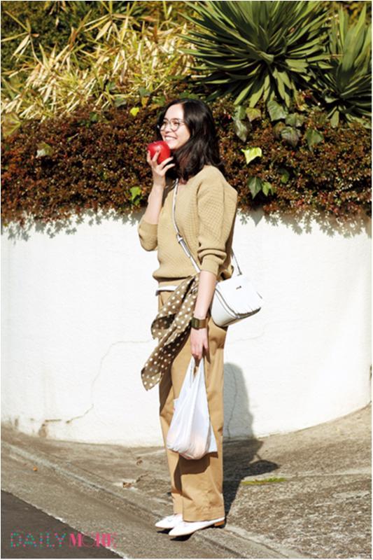 【今日のコーデ/比留川游】女子トモで集まる日曜日はベージュコーデでおしゃれ自慢♡_1